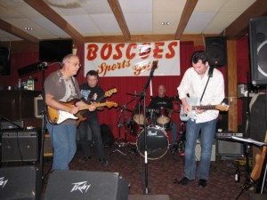 Playing with the Orange County Blues Players at Boscoe's Sports Grill
